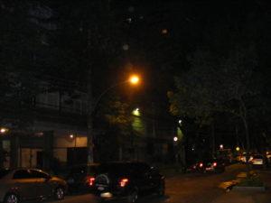 New Light Installation in Barra da Tijuca, photo by Philip Sever.