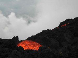 A lava river at Pacaya Volcano, Guatemala, photo by Aaron Smith