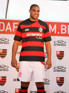 Adriano will wear the number 9 shirt, photo by Maurício Val/VIPCOMM.