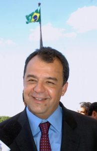 Governor of Rio de Janeiro state, Sergio Cabral, photo by José Cruz/Agncia Brasil.