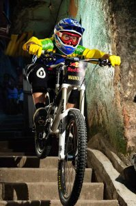 Brazil's Markolf Berchtold rode his way into second place, photo by Mareclo Magni/Red Bull Photofiles.