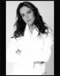 Susie Baboni, the pharmacologist-entrepreneur behind Lanni Blanc Cosmetique, photo by Guto Escobar.
