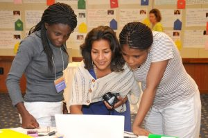 Women at work at the 49th GWIM, photo by ExxonMobil.