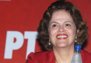 Lula's Chief of Staff, Dilma Rousseff, photo courtesy of Arquivo PAN.