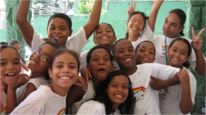 Children at the NGO Solar Meninos de Luz, photo courtesy of Solar Meninos de Luz.