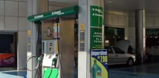 Dual-fuel gas station at Sao Paulo in 2008