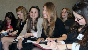 British School students at the Model UN at Harvard, photo courtesy of The British School