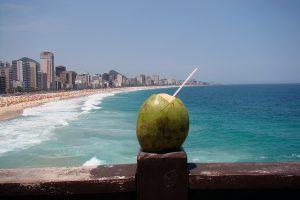 A view overlooking Leblon beach and apartments, Rio de Janeiro, Brazil News