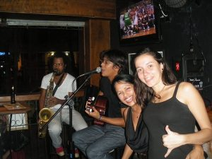 Live music and a basketball game at Blue Agave, Rio de Janeiro, Brazil, News