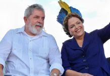 Ex-President Lula was seen with the incumbent president, Dilma Rousseff, last week at the inauguration of the Rio Negro bridge, photo by Roberto Stuckert Filho/Presidência da República