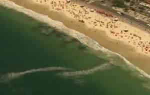 Black patches on Rio's beaches, ocean, pollution, Rio de Janeiro, Brazil News.
