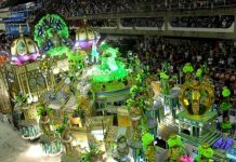 Imperatriz's is renowned for its fantasy style designs, as seen at Carnival 2011, Rio de Janeiro, Brazil, News