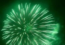 green-fireworks