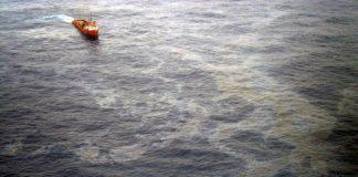 November's oil leak in the Campos Basin off the coast of Rio de Janeiro, Brazil