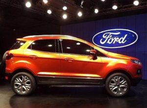 Ford EcoSport, unveiled in Brasília in January 2012, photo by Wikimedia Licence Attribution/Rahulmalik13.