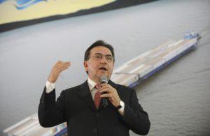 Minister of Ports, José Leônidas Cristino, photo by Wilson Dias/ABr