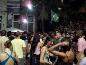The Pedra do Sal square regularly packs out for the Monday night samba, Rio de Janeiro, Brazil News