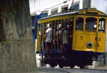 The Santa Teresa bonde before being shut down, Rio de Janeiro, Brazil News