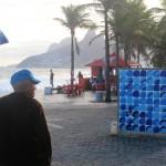 Street art inspired by the environment, MUDA in Arpoador, Rio de Janeiro, Brazil News