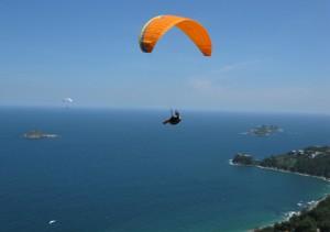 Paragliding over Rio's São Conrado is a popular tourist activity, Rio de Janeiro, Brazil News