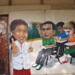 Mural in Complexo do Alemao, Rio de Janeiro, Brazil News