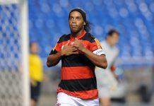 Ronaldinho has been critized lots lately by Fla fanatics, photo by Alexandre Vidal/Fla Imagem.