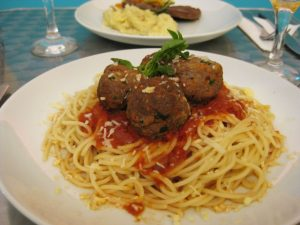 Home cooked American style spaghetti and meatballs is the order of the day at The Gringo Cafe, Rio de Janeiro, Brazil News