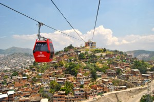 Gondolas offer Complexo do Alemão alternative transportation from above, Rio de Janeiro, Brazil News
