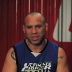 Wanderlei Silva was supposed to fights against his opponent at TUF Brasil, Vitor Belfort, image recreation.