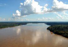 Rio Madeira, Rondônia, from above, photo by ABr/Wilson Dias.