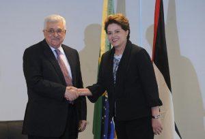 President Dilma Rousseff receiving Palestinian President Mahmoud Abbas in Brasília, Rio de Janeiro, Brazil News