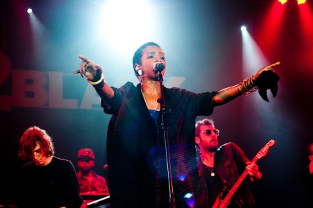 Lauryn Hill was the main attraction opening the Back2Black festival last night, Rio de Janeiro, Brazil News