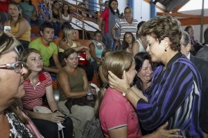 President Dilma Rousseff visits Santa Maria, RS, after deadly nightclub fire, Brazil News