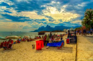 Arpoador at the end of the Ipanema, Rio de Janeiro, Brazil News