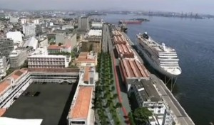 Simulation of what the Port Zone will look like once the project Port Marvellous is completed, Rio de Janeiro, Brazil News