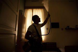 A fogging operation for mosquitos, dengue fever, Rio de Janeiro, Brazil News