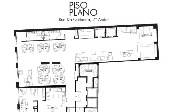 Piso Plano Design - Commerical Floor Plan