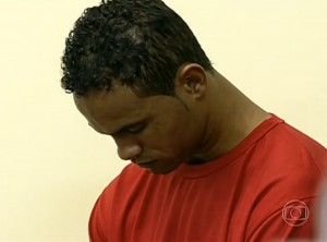 Bruno looks down during his trial, Brazil News