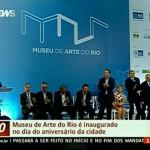 Dilma speaks at the inauguration of the museum, imagem divulgação.