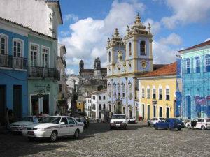 Salvador's historic old town Pelourinho is popular to visit, Rio de Janeiro, Brazil News