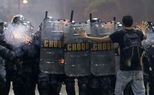 Rio Reports Vandalism Damages from Protests, Rio de Janeiro, Brazil News
