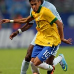 Neymar is in Brazil's lineup to face Japan