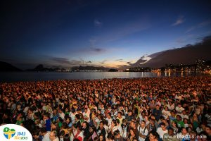 A recent event in Niterói to celebrate the upcoming World Youth Day, Rio de Janeiro, Brazil News