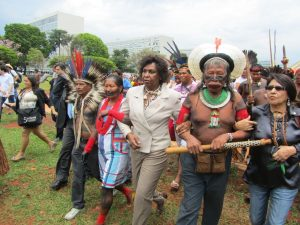 Hundreds of Indigenous people hailing from over 30 different tribes across the country made their way Brasília, Rio de Janeiro, Brazil News