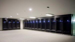 The players' dressing room in Maracanã, Rio de Janeiro, Brazil News