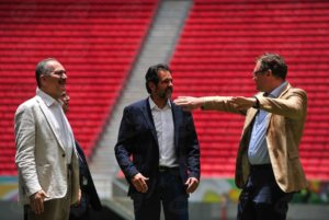 Aldo Rebelo (left) is the Brazilian Minister for Sport, Rio de Janeiro, Brazil News