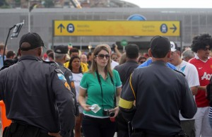 Security forces at the Maracanã, Rio de Janeiro, Brazil, Brazil News