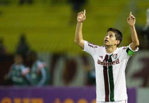 Darío conca scored the winner for Fluminense against Santos, Rio de Janeiro, Brazil, Brazil News