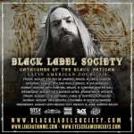 Black Label Society Latin American Tour 2014