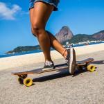 Longboarding in Rio, the skateboarders paradise, Rio de Janeiro, Brazil, Brazil News